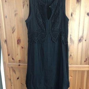 Gypsy. Fine cotton sleeveless dress large